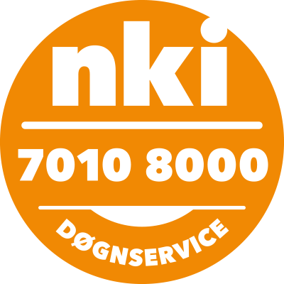 døgnservice-label