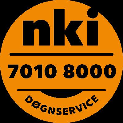 døgnservice-label