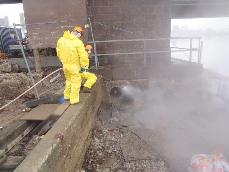 industrispuling beton