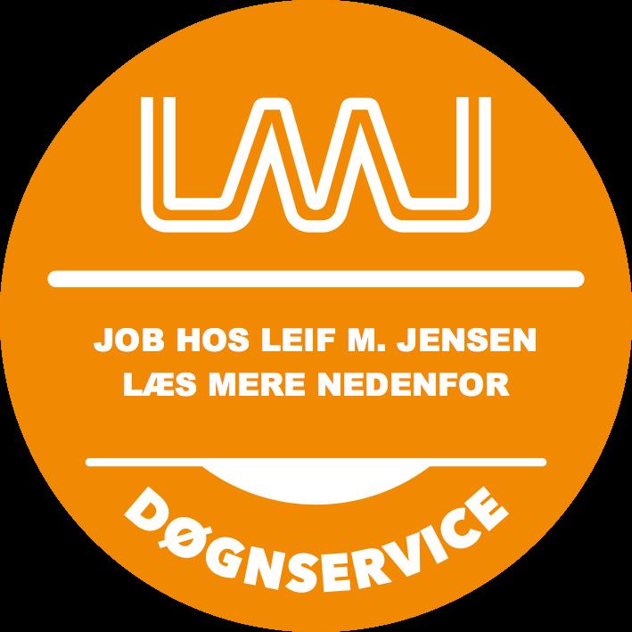 Job hos Leif M. Jensen